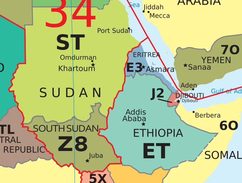 Z8 Sul do Sudão visualização